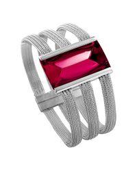 Baccarat | Metallic So Insomnight Silver Crystal Bracelet | Lyst