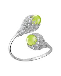 Baccarat | Metallic Merveille Sterling Silver You and Me Bracelet | Lyst