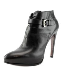 CoSTUME NATIONAL - Black Scarpa Pointed Toe Leather Heels - Lyst