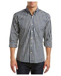 Bills Khakis - Blue Standard Issue Classic Fit Woven Shirt for Men - Lyst