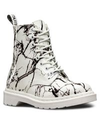 Dr. Martens - White Pascal Leather Boot for Men - Lyst