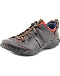 Romika | Romotion 01 Women Round Toe Leather Brown Sneakers for Men | Lyst