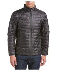 Patagonia | Gray ? Nano Puff Coat for Men | Lyst