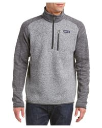 Patagonia | Gray ? Better Sweater 1/4-zip for Men | Lyst