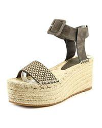 Vince - Multicolor Abby Women Open Toe Synthetic Multi Color Platform Sandal - Lyst