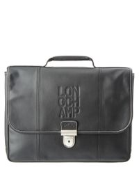 Longchamp | Black 2.0 Small Leather Briefcase for Men | Lyst