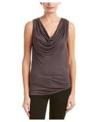 Young Fabulous & Broke | Gray Cowl Neck Top | Lyst