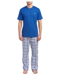 Brooks Brothers - Blue 2pc Lounge Set for Men - Lyst