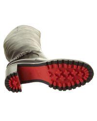 Christian Louboutin - Black Leo Leather Boot - Lyst