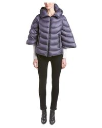Moncler | Gray Akylina Down Coat | Lyst