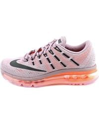 Nike - Purple Air Max 2016 Round Toe Synthetic Running Shoe - Lyst