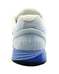 Nike - Lunarglide 7 Women Round Toe Canvas White Running Shoe - Lyst