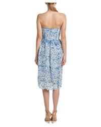 Parker - Blue Azalea Midi Dress - Lyst
