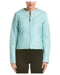 Dawn Levy | Green Leather Jacket | Lyst
