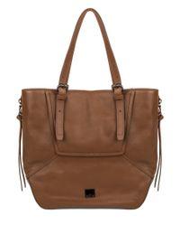 Kooba | Brown Crawford Leather Tote | Lyst