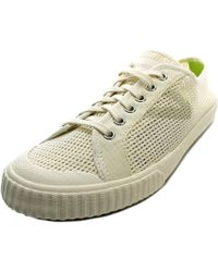 Tretorn | White Tournament Net W Round Toe Canvas Sneakers | Lyst