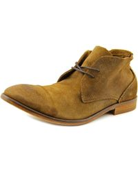 H by Hudson | Brown Osbourne Men Round Toe Leather Tan Chukka Boot for Men | Lyst