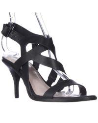 Pour La Victoire | Maura Strappy Dress Sandals - Black | Lyst