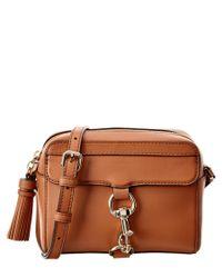 Rebecca Minkoff | Brown Mab Leather Camera Bag | Lyst