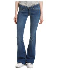 Rag & Bone | Blue /jean Elephant Bell Houston Flare Leg | Lyst