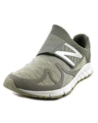 New Balance | Gray Mlrush Round Toe Synthetic Walking Shoe for Men | Lyst