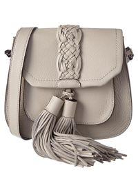 Rebecca Minkoff | White Isobel Leather Saddle Bag | Lyst