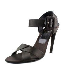 Roger Vivier   Sandalo Sport-chic T.100 Women Open Toe Canvas Black Sandals   Lyst