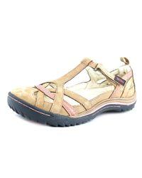 Jambu | Multicolor Charley Women W Round Toe Leather Tan Walking Shoe | Lyst