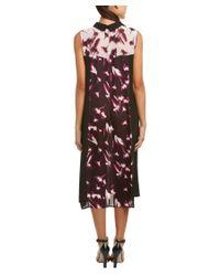 BCBGMAXAZRIA - Multicolor Emerie Midi Dress - Lyst