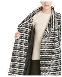 Shoshanna - Multicolor Wool-blend Coat - Lyst
