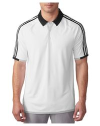 Adidas Originals | White Adidas Climacool 3-stripes Competiton Polo for Men | Lyst