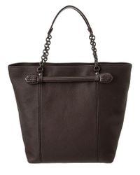 Bottega Veneta | Brown Leather Tote | Lyst