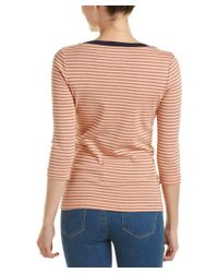 Three Dots - Multicolor Anne T-shirt - Lyst