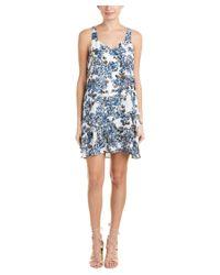 Parker | Blue Layered A-line Dress | Lyst