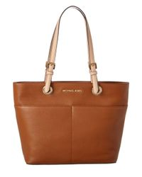 MICHAEL Michael Kors | Brown Bedford Leather Tote | Lyst