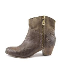 Accademia - Brown Old Miss Pointed Toe Leather Ankle Boot - Lyst