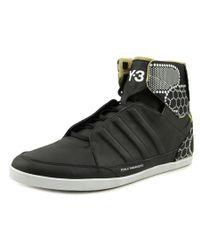 Y-3 | Black Honja Hi Men Synthetic Multi Color Fashion Sneakers for Men | Lyst