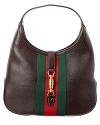 Gucci   Brown Jackie Soft Leather Hobo   Lyst