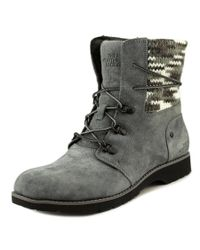 The North Face | Gray Ballard Lace Ii Mm Round Toe Suede Winter Boot | Lyst