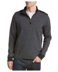 Ben Sherman   Blue Mock Fleece Pullover for Men   Lyst
