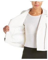 Catherine Malandrino - White Jacket - Lyst