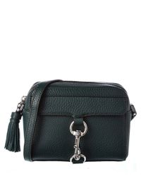 Rebecca Minkoff | Green Mab Leather Camera Bag | Lyst