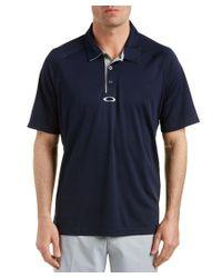 Oakley | Blue Elemental 2.0 Polo Shirt for Men | Lyst