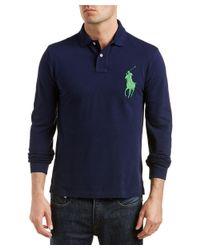 Ralph Lauren - Blue Polo Slim Fit Polo Shirt for Men - Lyst