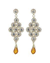 Rosena Sammi - Metallic Jewelry Beaded Shree Earrings - Lyst