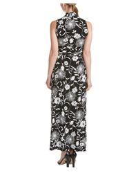 Vince Camuto | Black Petite Maxi Dress | Lyst