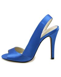 ALDO - Blue Gorewen Open-toe Synthetic Slingback Heel - Lyst