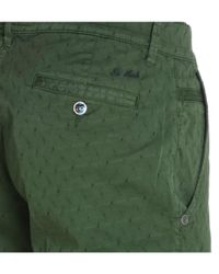 Re-hash - Green Textured Shorts for Men - Lyst