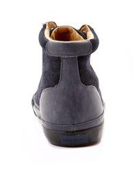 Cole Haan | Blue Vaughn Suede Hightop Sneaker for Men | Lyst