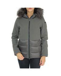 Rrd - Gray Women's Grey Polyamide Outerwear Jacket - Lyst
